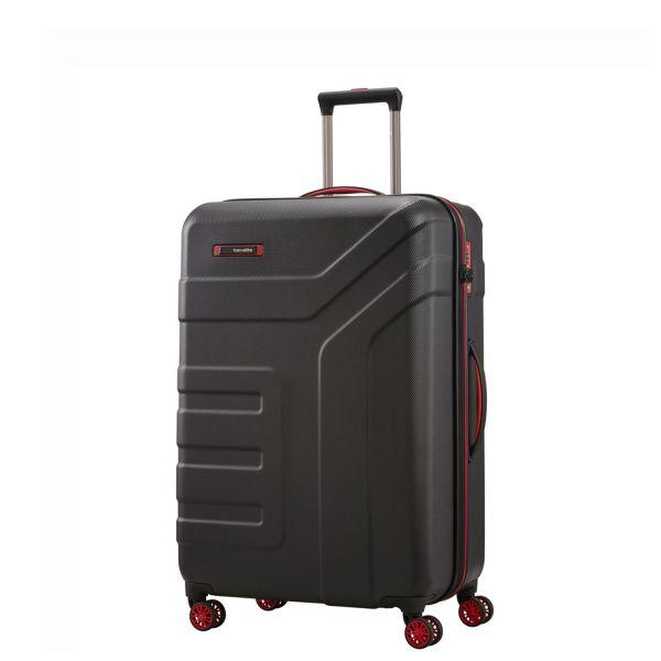 Travelite VECTOR Trolley mit Reissverschluss 072048