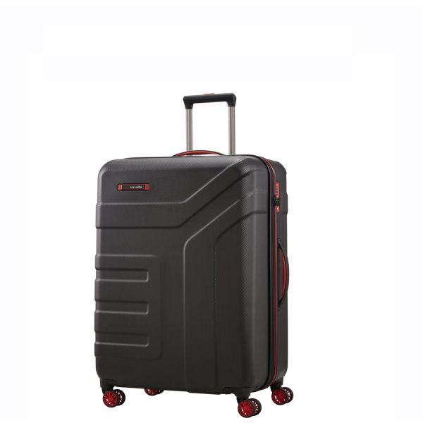 Travelite VECTOR Trolley mit Reissverschluss 072047